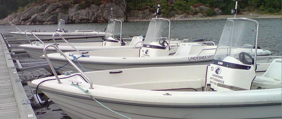 Lei båt Lindesnes