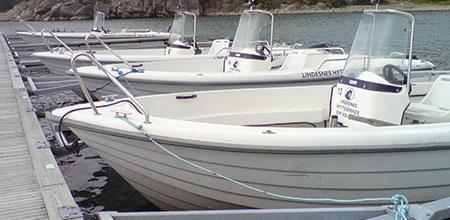 Lei båt Båly Havn